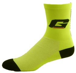 "Gaerne CoolMax Socks 5""- fluo yellow"