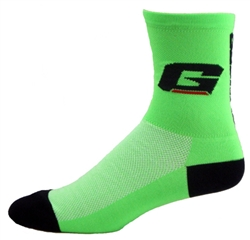"Gaerne CoolMax Socks 5""- neon green"