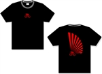 Rising Sun Bicycle T-Shirt - Black