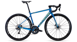 2021 Bottecchia EMME 4 Superlight Ultegra Disk 22 - Blue Rainbow