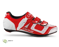 CRONO CR-3 Cycling Shoes - Red