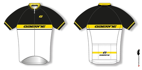 1b2505ded Gaerne Speed Cycling Jersey - Black Yellow